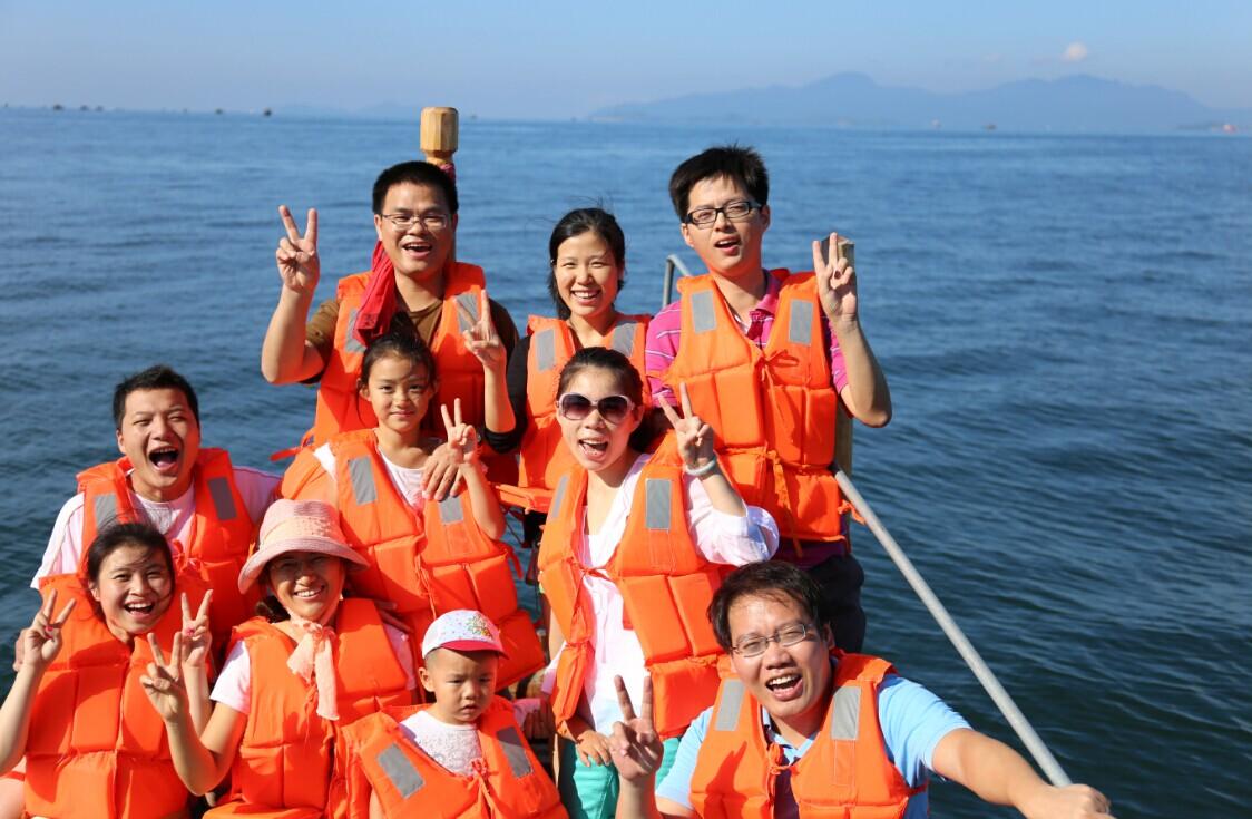 2013年8月惠州巽寮湾游